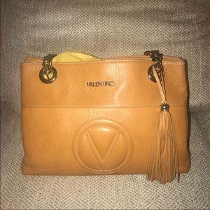 """Valentino """"Luisa"""" Leather Shoulder Bag"""